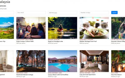 How to build an AirBNB alike booking site using HTML, CSS and JavaScript?