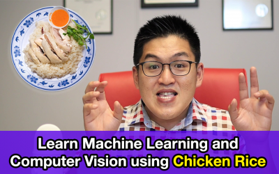 Learn Machine Learning and Computer Vision using Chicken Rice