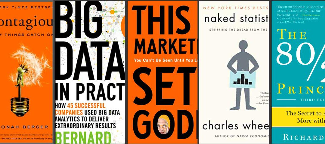 Giveaway #1 – 5 Best-Selling Data Science & Marketing Audiobooks
